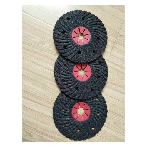 压槽砂盘 semi-flexible disc