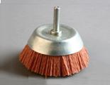 研磨丝杆碗shaft mounted cup brush