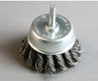 杆扭碗shaft knot cup brush