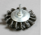 杆扭盘shaft knot wheel brush