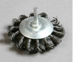 杆扭盘shaft knot wheel brush